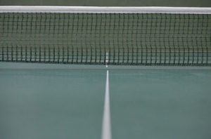 Ukuran net tenis lapangan
