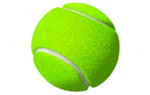 ukuran bola tenis