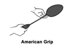 Teknik American grip teknik dasar bulu tangkis