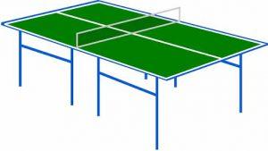 Cara membuat meja tenis