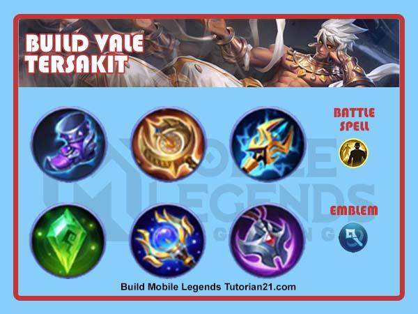 build vale tersakit di mobile legends