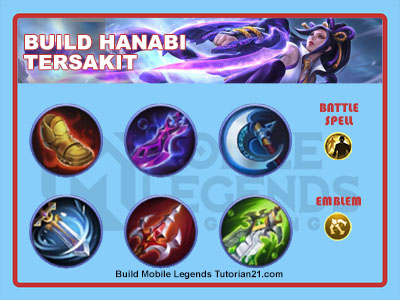 build hanabi tersakit