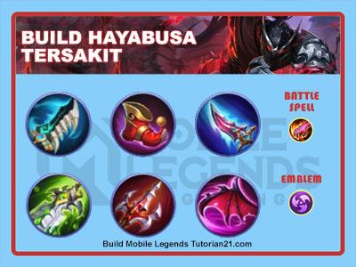 build hayabusa tersakit mobile legends