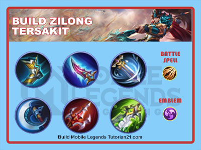 build zilong tersakit