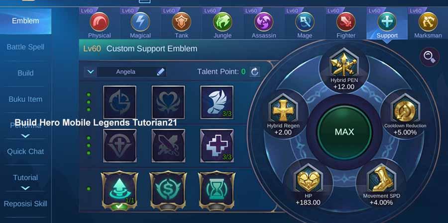 emblem angela support