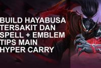 guide hayabusa mobile legends