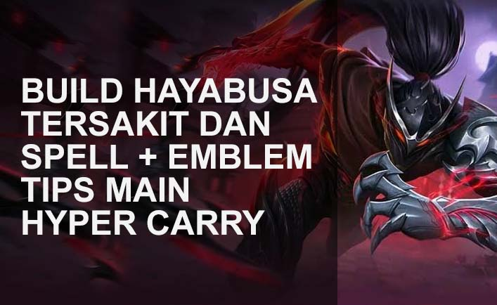 guide hayabusa mobile legends